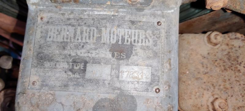 moteur - Moteur bernard w2 problème Ufkw10