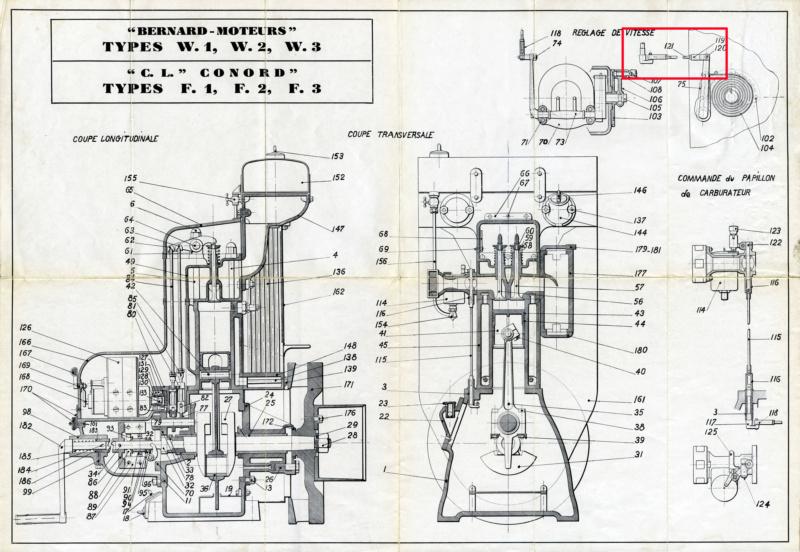 problème moteur Bernard w1 W1w2w311
