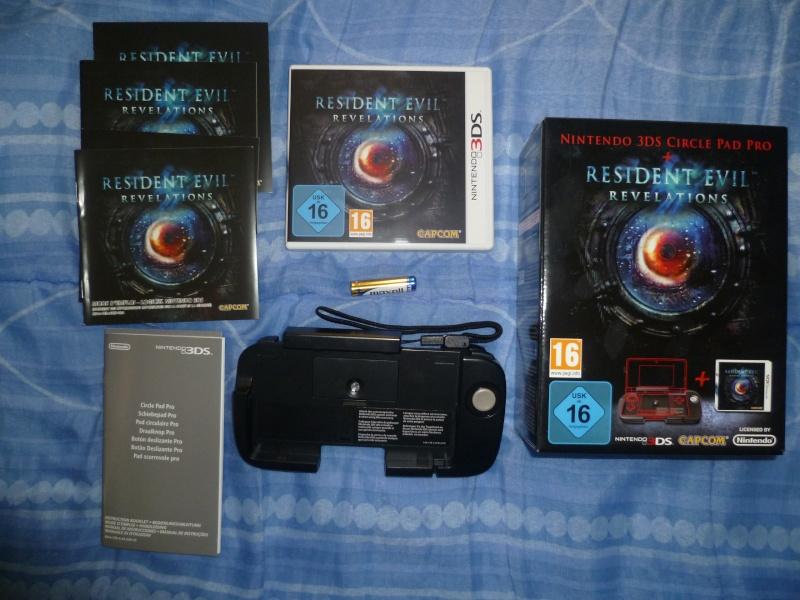 [Jeux/Accessoire]   RESIDENT EVIL Revelation 3DS+circle pad. P1020113