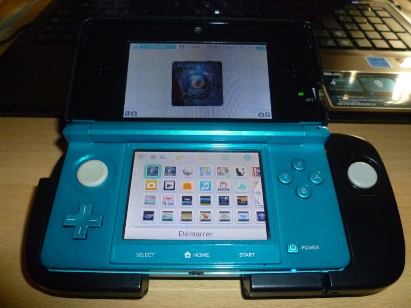 [Jeux/Accessoire]   RESIDENT EVIL Revelation 3DS+circle pad. P1020115