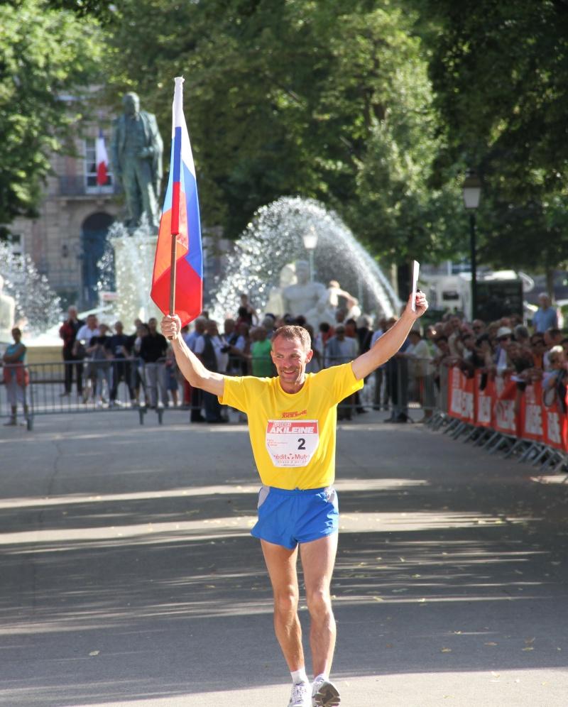Les vainqueurs de Paris-Colmar 2011 . Colmar17