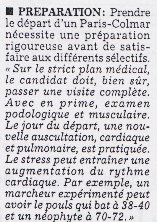 Francis GENSON médecin de l'équipe de France . Presse12