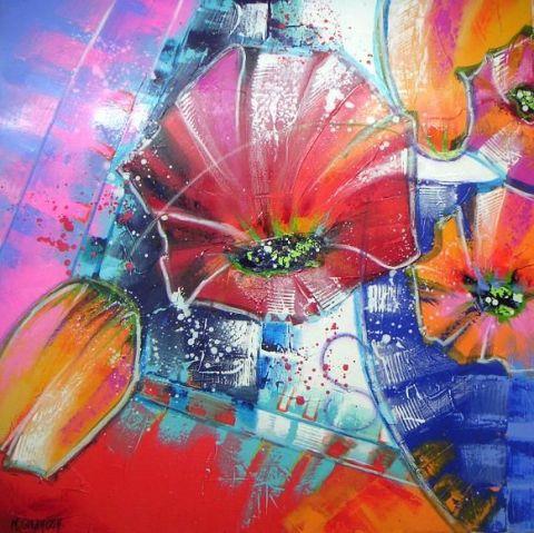 Les FLEURS  dans  L'ART - Page 11 Guenai10