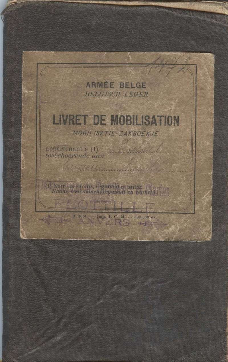 PASPORT TORPILLEURS MARINS 1919 Livret10
