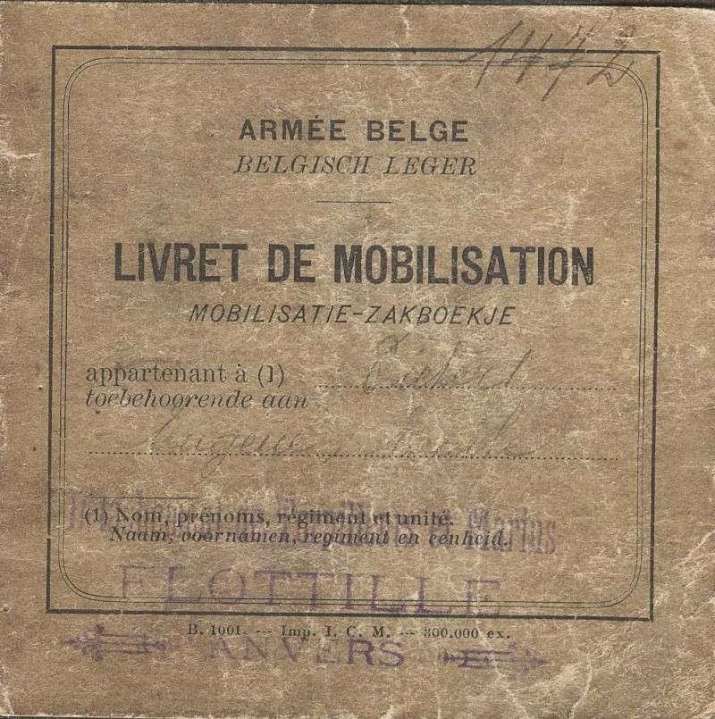 PASPORT TORPILLEURS MARINS 1919 Livret11