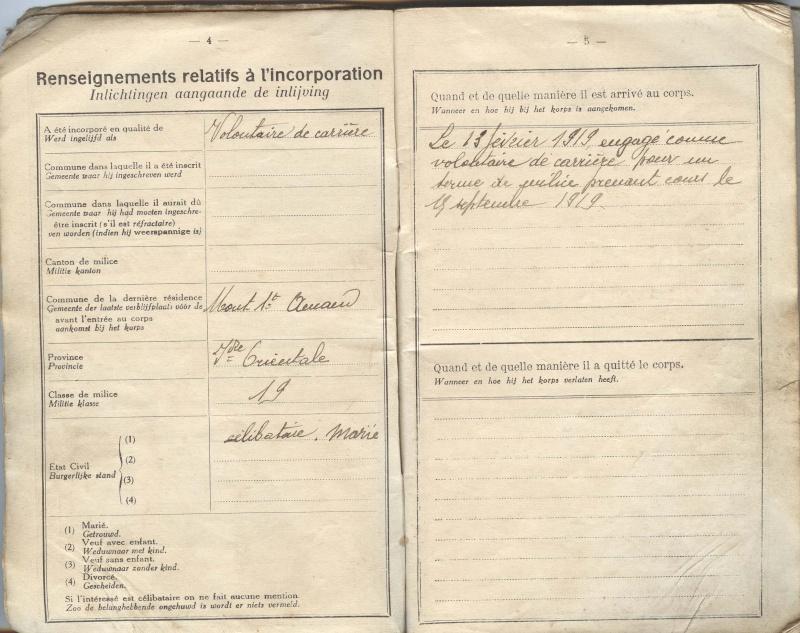 PASPORT TORPILLEURS MARINS 1919 Livret17