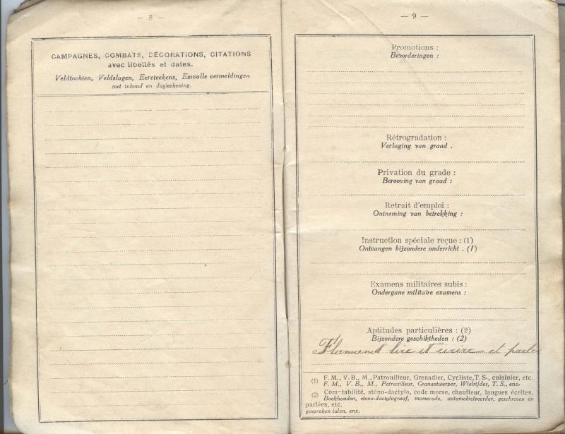 PASPORT TORPILLEURS MARINS 1919 Livret18