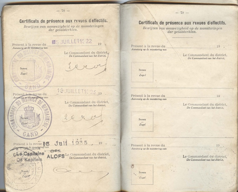 PASPORT TORPILLEURS MARINS 1919 Livret22