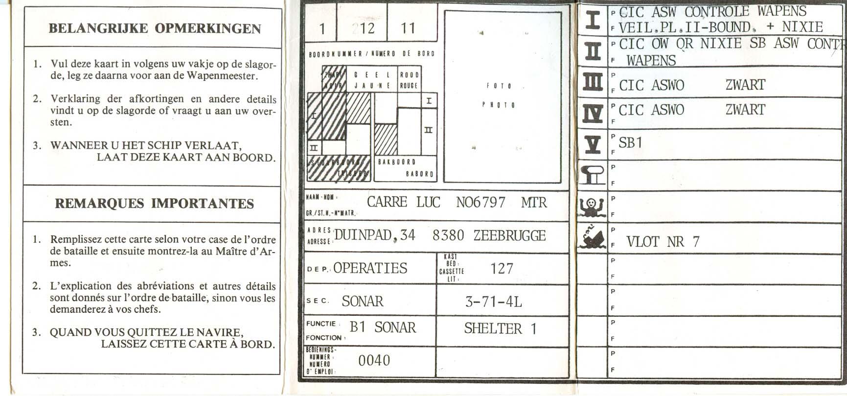 IN MEMORIUM LUC CARRE (loopbaan zeemacht) Luk00012
