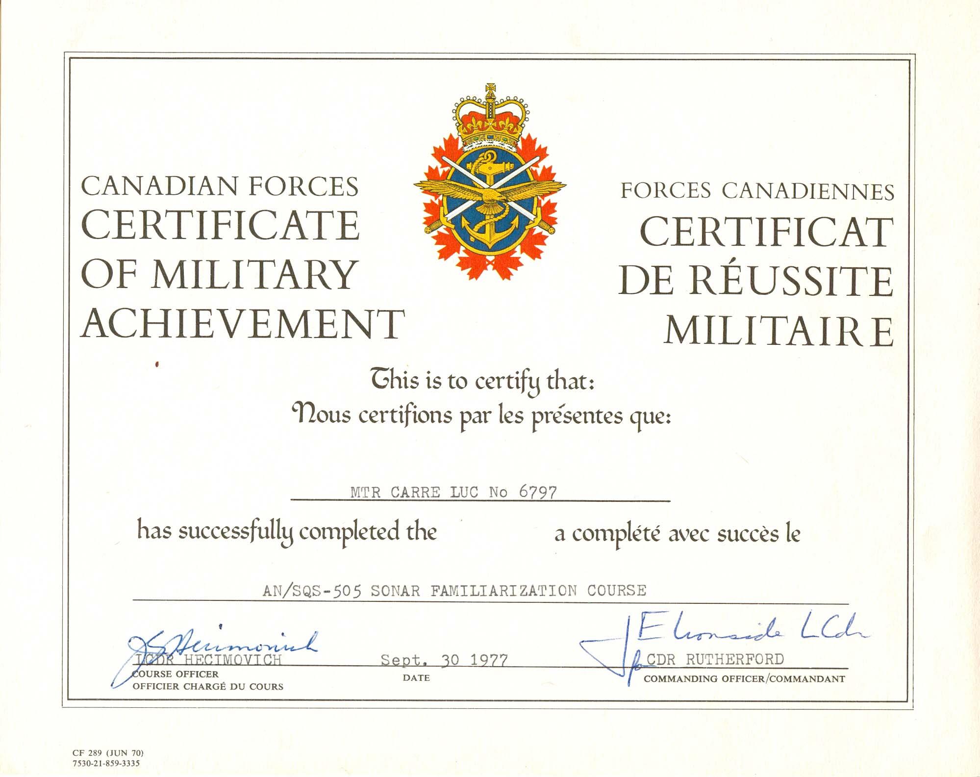 IN MEMORIUM LUC CARRE (loopbaan zeemacht) Luk00216