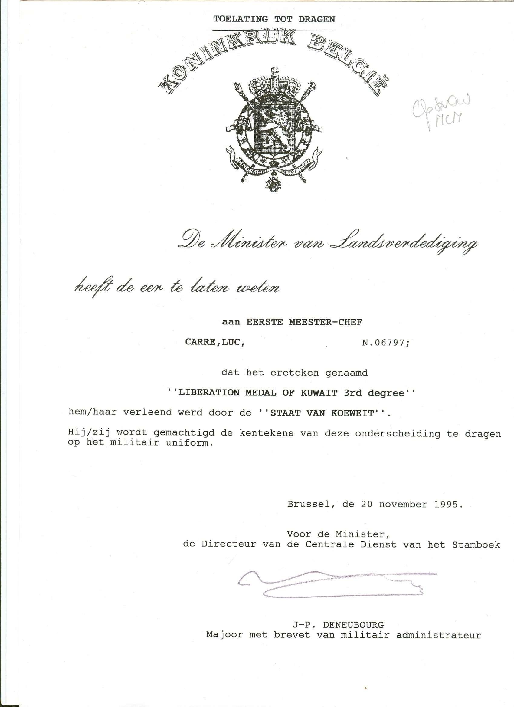 DOCUMENTS GUERRE DU GOLF (DESERT STORM) Luk00223