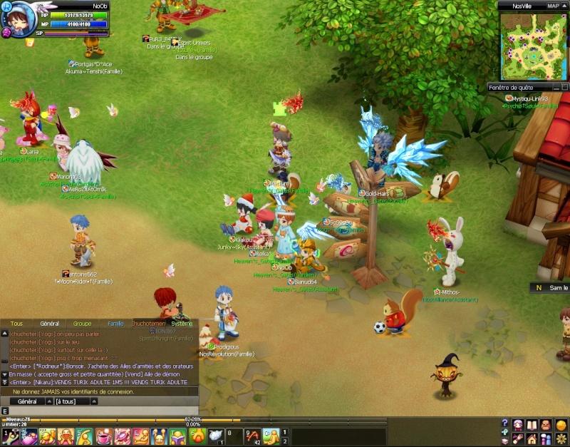 Screenshots de NoOb 20120716