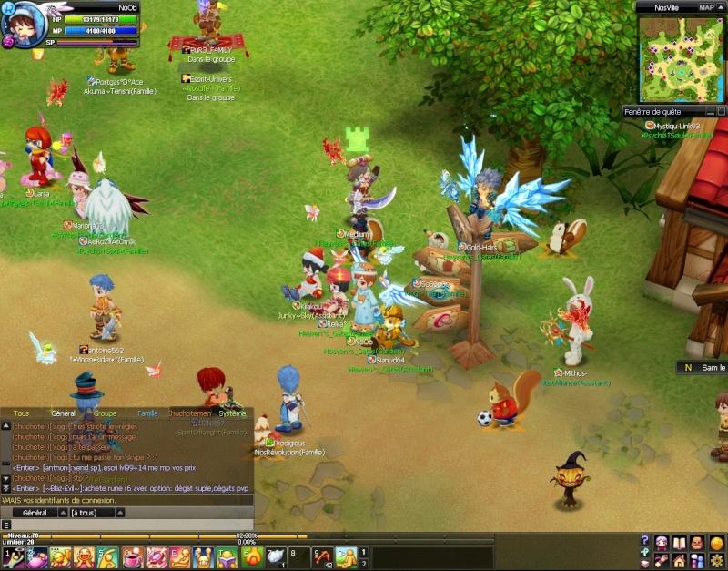 Screenshots de NoOb 20120717