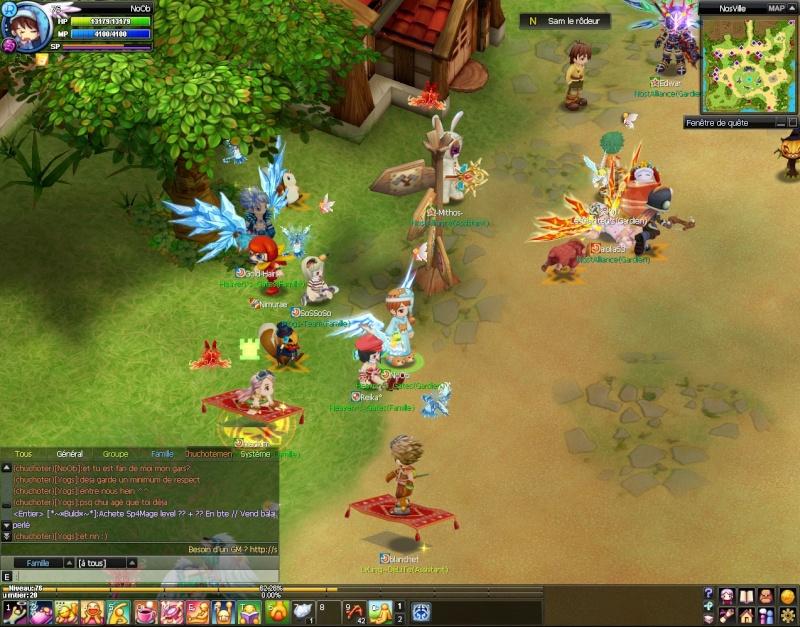 Screenshots de NoOb 20120723
