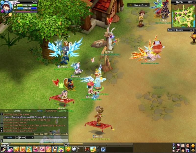 Screenshots de NoOb 20120724