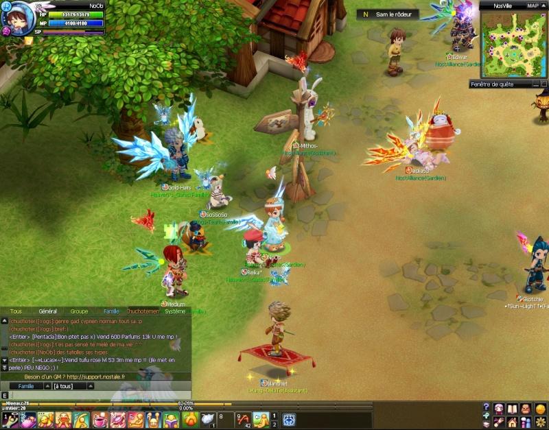 Screenshots de NoOb 20120727