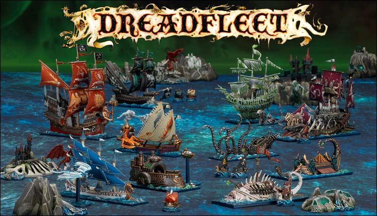 Dreedfleat-Combats de pirates sur les mers de Warhammer M1980410
