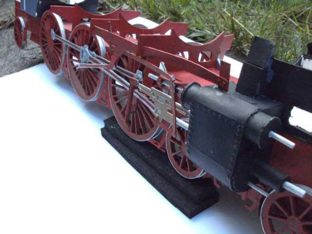Schnellzuglok Br 01 mit Tender in M1/20 K640_100