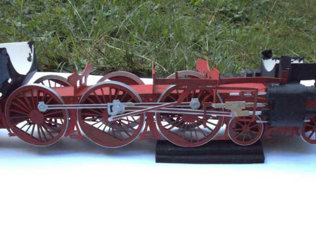 Schnellzuglok Br 01 mit Tender in M1/20 K640_101