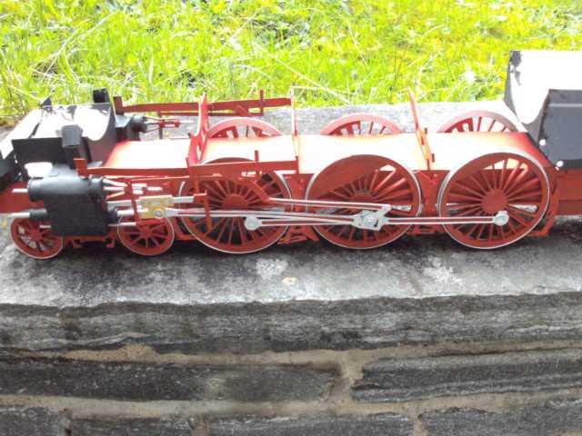Schnellzuglok Br 01 mit Tender in M1/20 K640_102