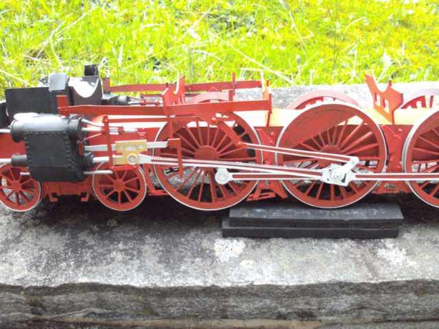 Schnellzuglok Br 01 mit Tender in M1/20 K640_104