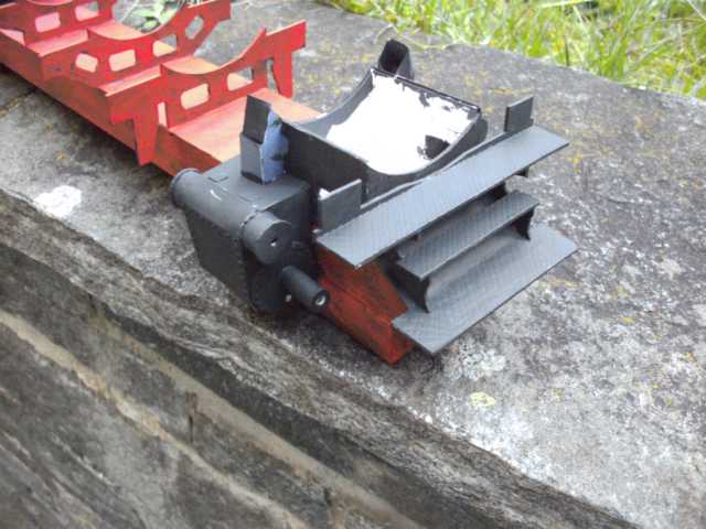 Schnellzuglok Br 01 mit Tender in M1/20 K640_b86