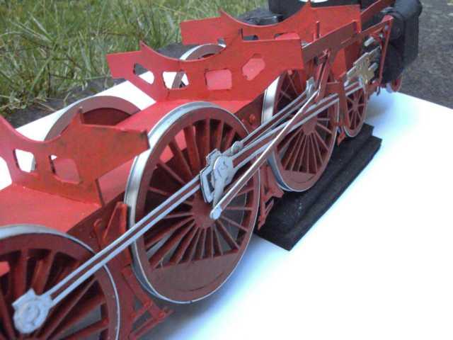 Schnellzuglok Br 01 mit Tender in M1/20 K640_b99
