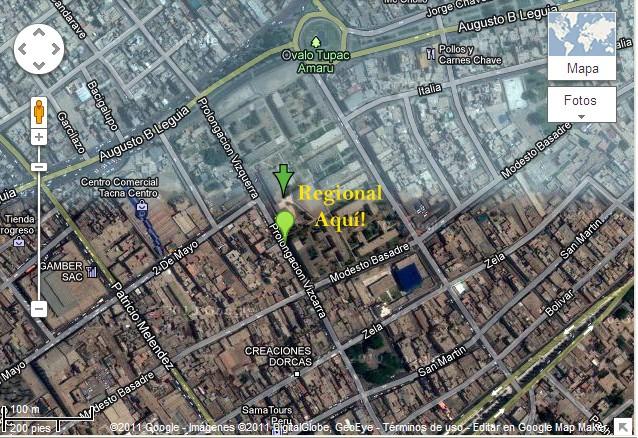 1ER REGIONAL CLASIFICATORIO TACNA WCQ 2012 - DOM 04 DIC 2011 Mapa_r11