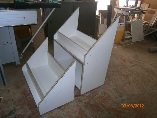 Ma m thode pour placards coulissants sous escalier - Fabriquer un meuble sous escalier ...