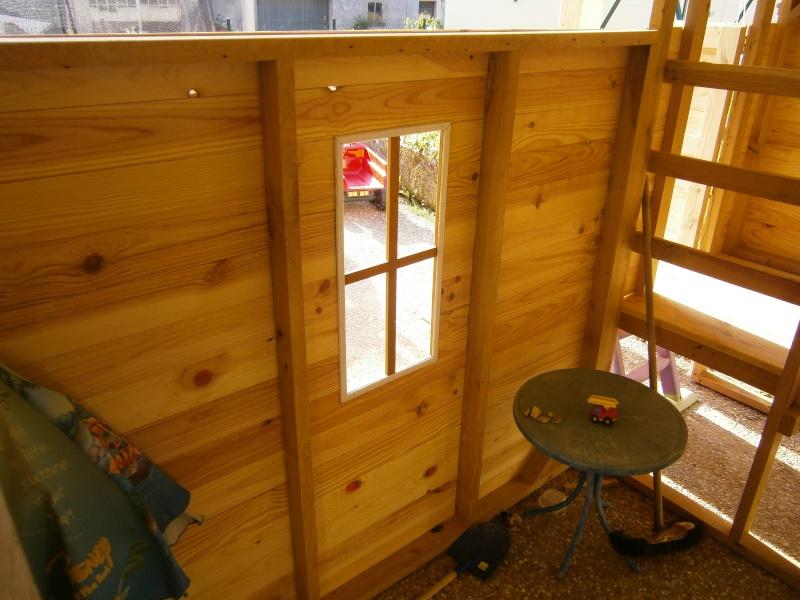 Une cabane et sa tour pour mes petits-fils P7220911
