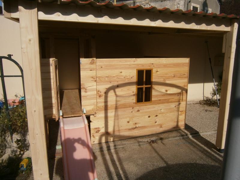 Une cabane et sa tour pour mes petits-fils P7220913