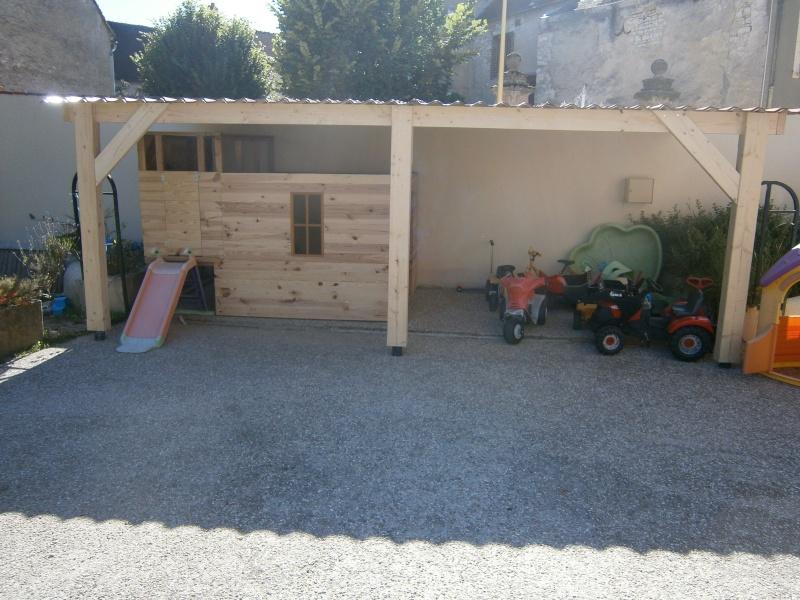 Une cabane et sa tour pour mes petits-fils P7230911