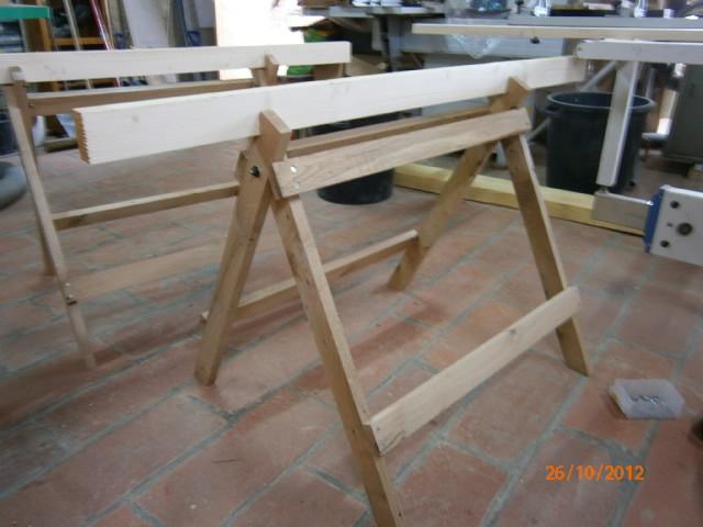 fabrication treteaux Pa261214