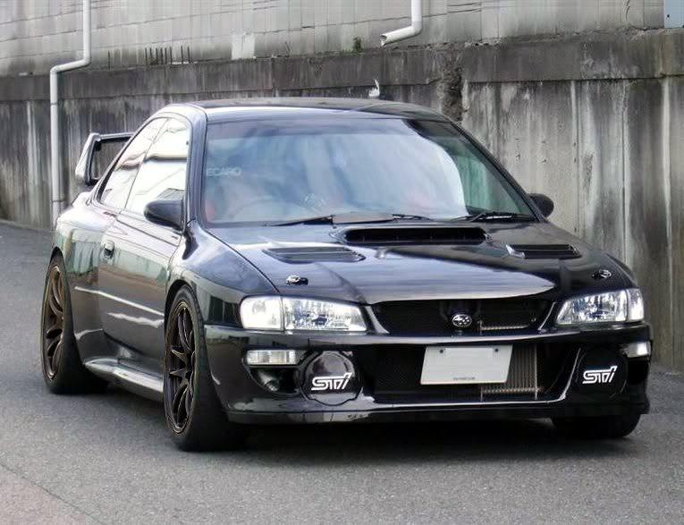 Subaru P1 Black210