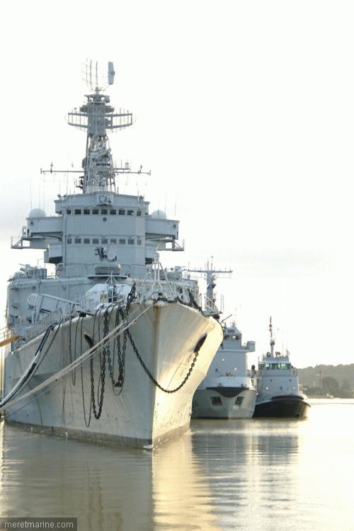 le croiseur COLBERT 730110