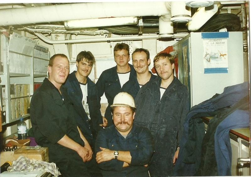 Le beau Westhinder quand j'étais à bord Photos10