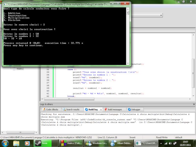Mes débuts dans la programmation C/C++ Progra10