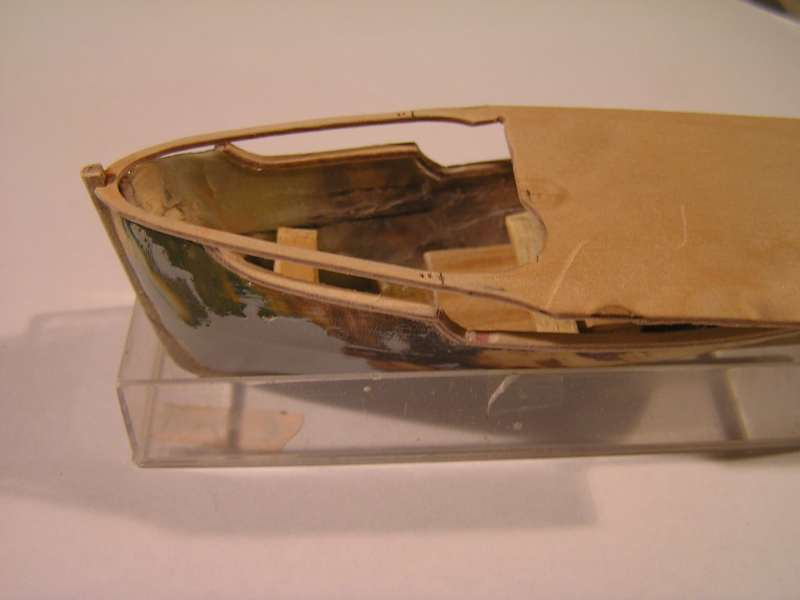 Construction en bateau moule du remorqueur l'HIPPOPOTAME  1915
