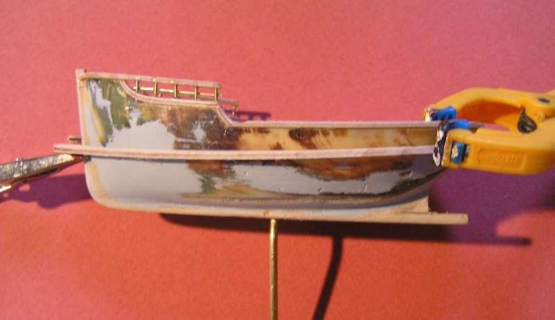 Construction en bateau moule du remorqueur l'HIPPOPOTAME  2216