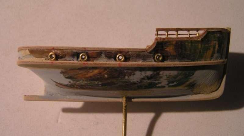 Construction en bateau moule du remorqueur l'HIPPOPOTAME  2418