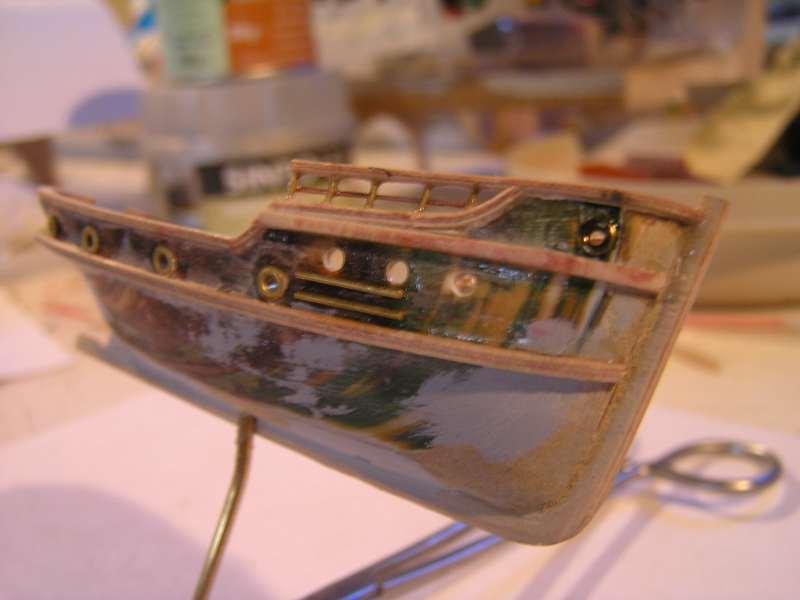 Construction en bateau moule du remorqueur l'HIPPOPOTAME  2716