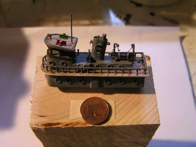 Construction en bateau-moule du remorqueur le Paterson 3813