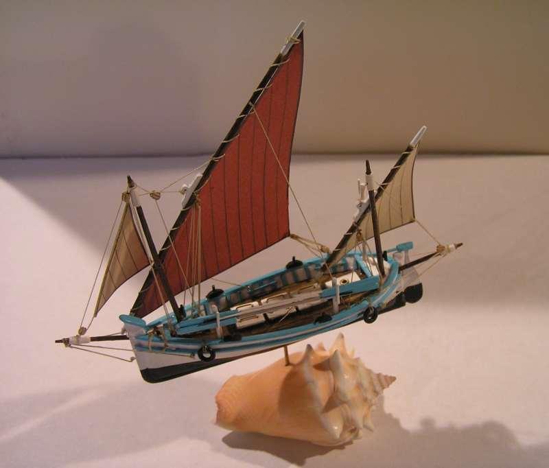 Le Tramontana  Llaud en bateau-moule  4513