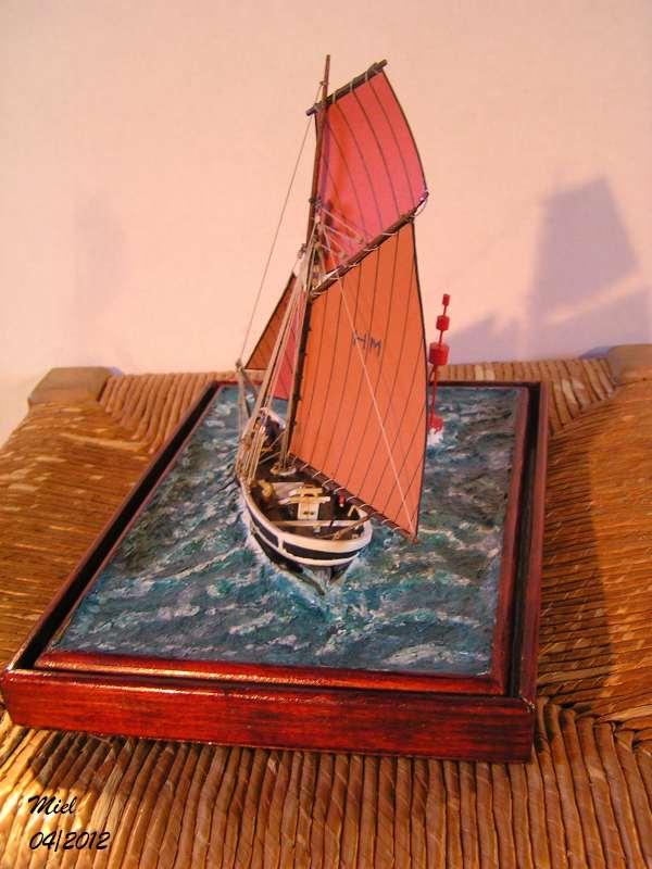 Dio : Le cotre Henriette-Marie en pleine mer (1/125°) par MIEL 4816