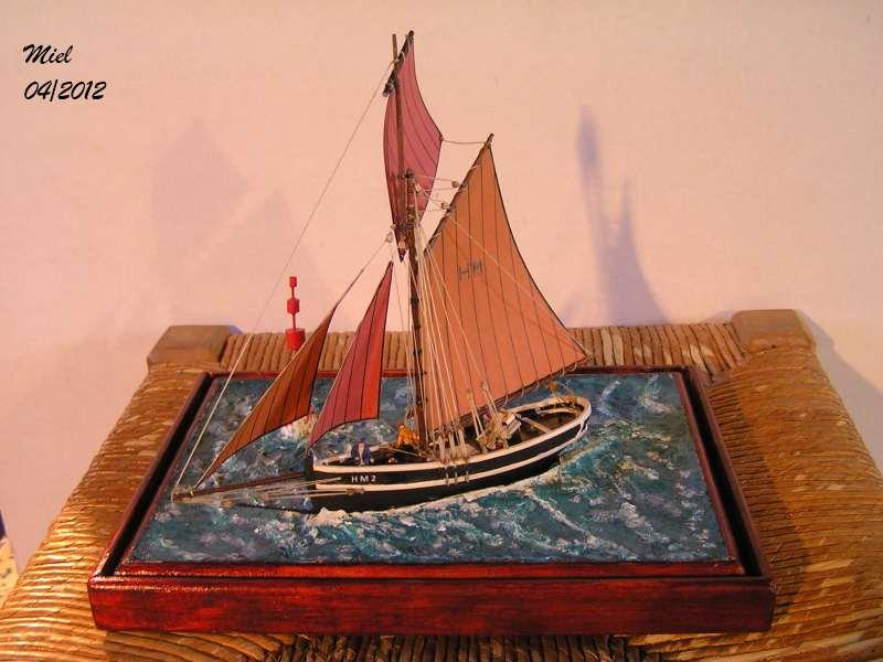 Dio : Le cotre Henriette-Marie en pleine mer (1/125°) par MIEL 4916