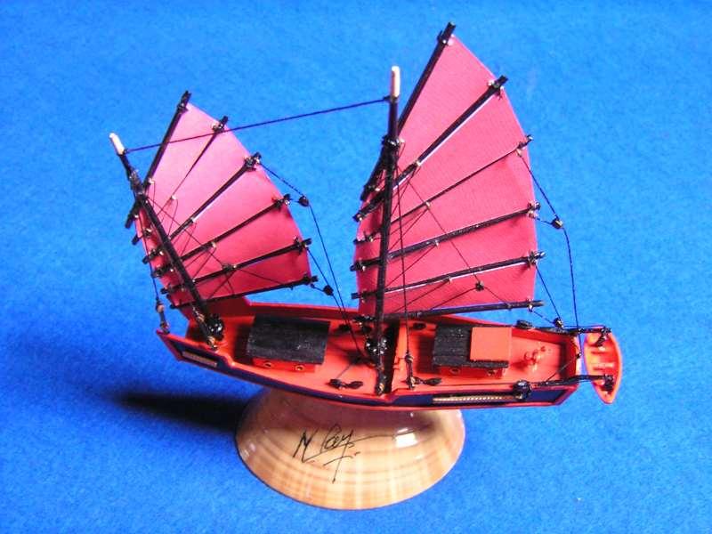 """Jonque chinoise """"La belle de Shangai""""bateau-moule 5010"""