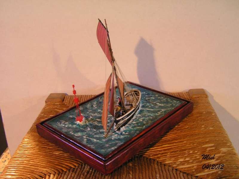 Dio : Le cotre Henriette-Marie en pleine mer (1/125°) par MIEL 5015