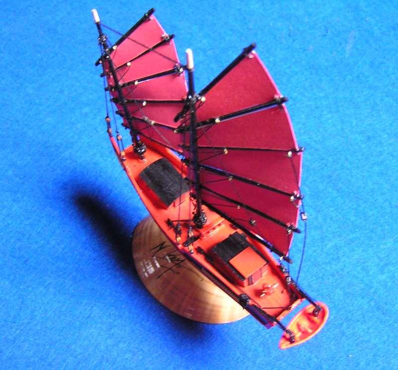 """Jonque chinoise """"La belle de Shangai""""bateau-moule 5211"""