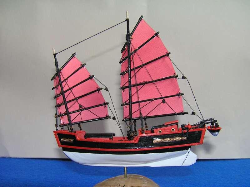 """Jonque chinoise """"La belle de Shangai""""bateau-moule 5310"""