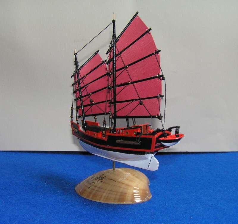 """Jonque chinoise """"La belle de Shangai""""bateau-moule 5411"""